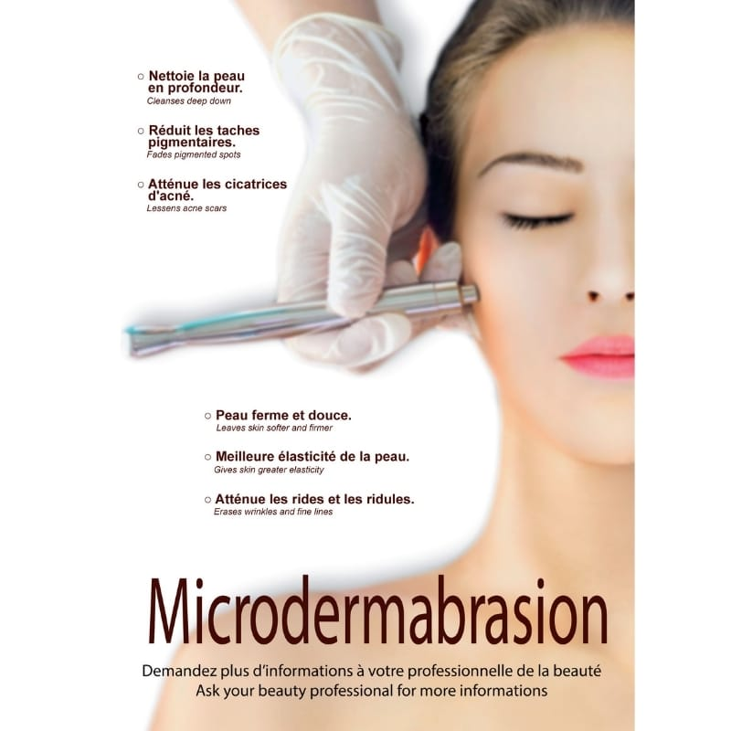 Affiche Microdermabrasion Perform'Art