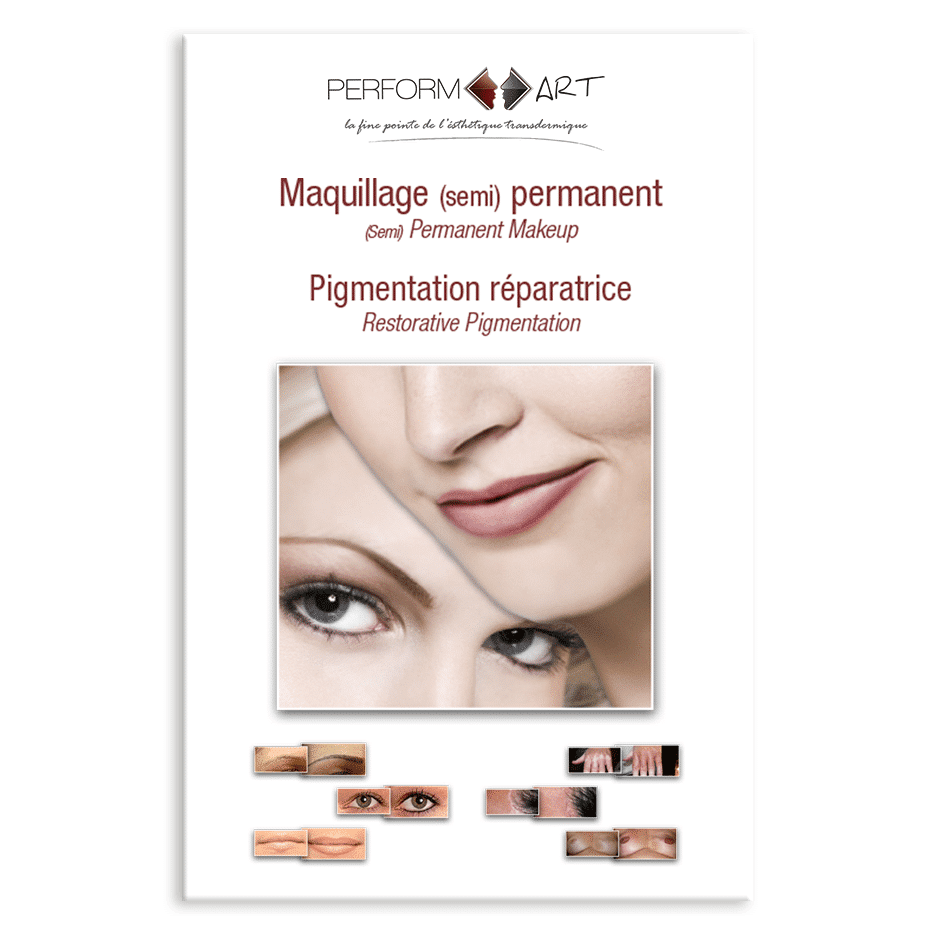 Brochure maquillage permanent Perform'Art