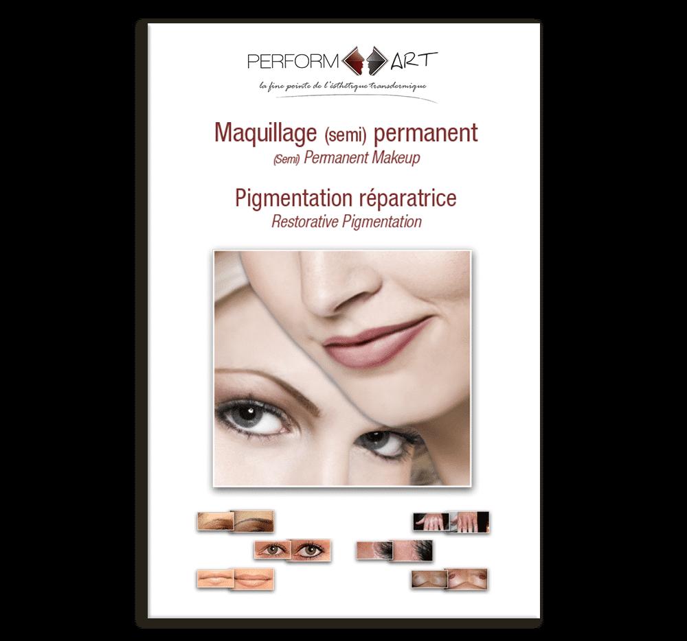 Brochure maquillage permanent Perform'Art