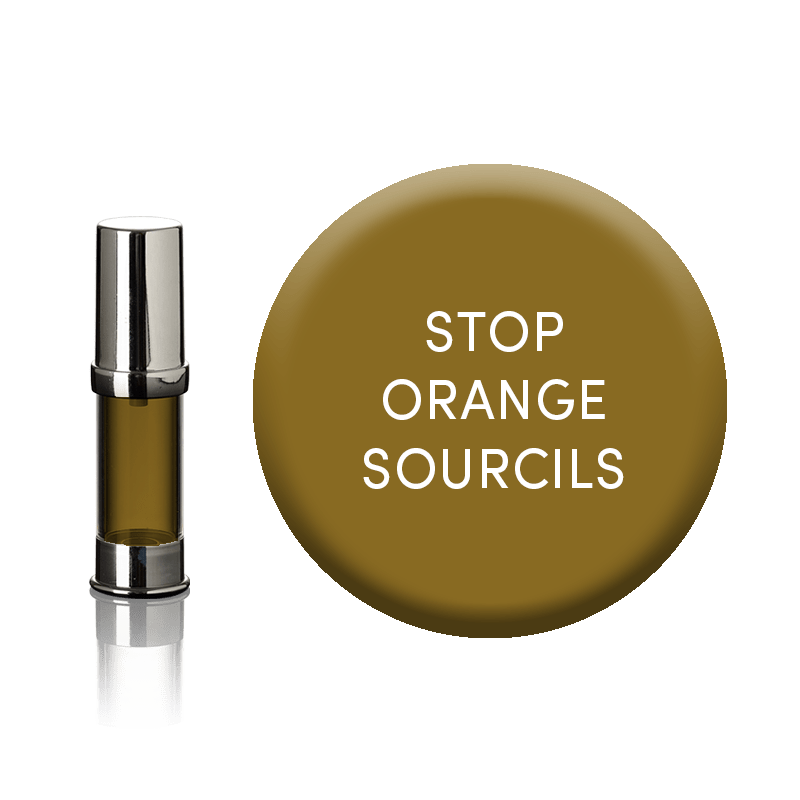 stop orange sourcil maquillage permanent