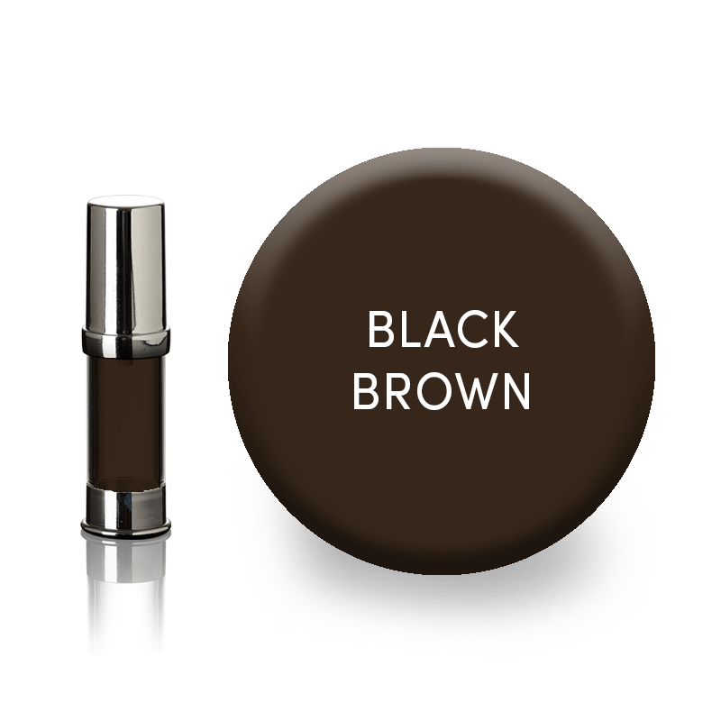 Black brown Perform'Art eyebrow pigment