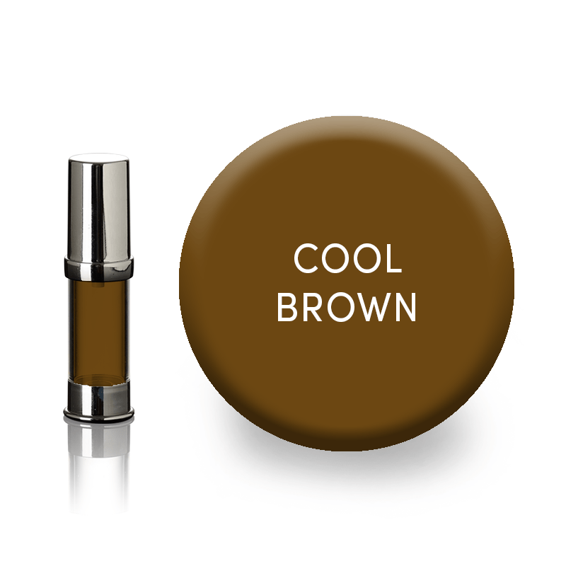 eyebrow pigment-cool brown