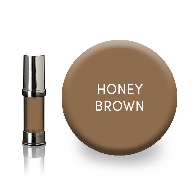 eyebrow pigment-honey brown