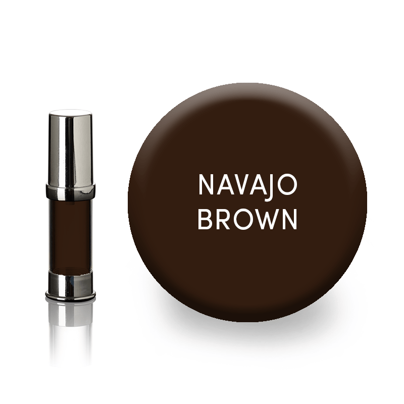 navajo brown eyebrow pigment
