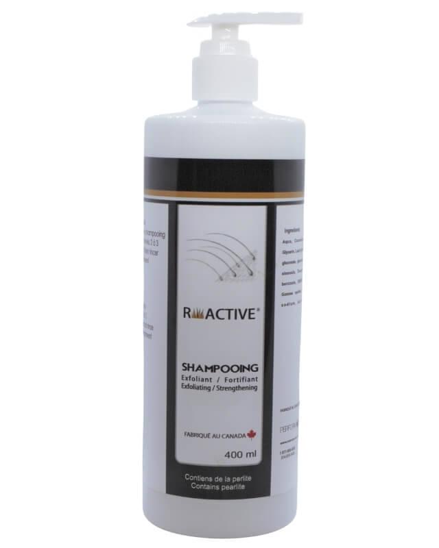 Shampooing perte de cheveux exfoliant R-active