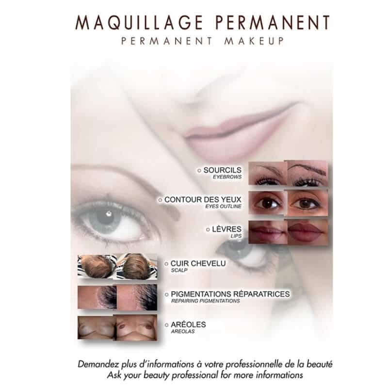 Affiche maquillage permanent Perform'Art